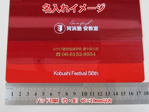 他の写真3: 暗記下敷き(したじき)赤 B6サイズ